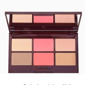Charlotte Tilbury Glowing Pretty Skin Face Palette